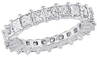 Affinity Diamond Jewelry Affinity 18K 2-9/10 cttw Princess Diamond Etern