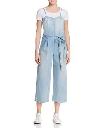 AG Jeans Gisele Denim Overalls in Infinite