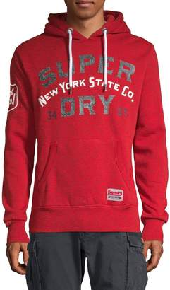 Superdry Logo Cotton-Blend Hoodie