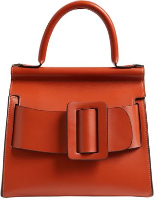 Karl 24 Leather Top Handle Bag $1,197 thestylecure.com