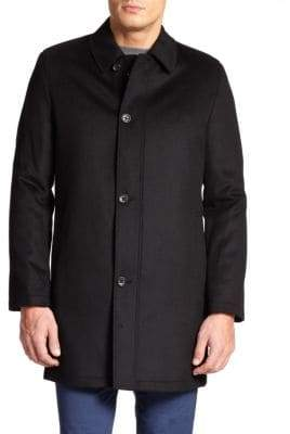 Saks Fifth Avenue COLLECTION Wool& Cashmere Coat