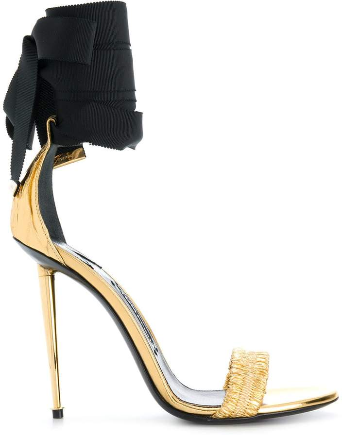 Tom Ford ankle-tie open-toe sandals