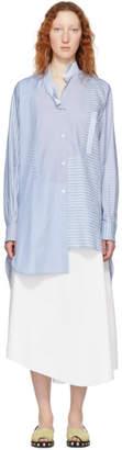 Loewe Blue Asymmetric Shirt
