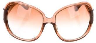 Marc Jacobs Resin Oversize Sunglasses