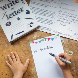 Two Little Boys Letter Writing Gift Set For Children