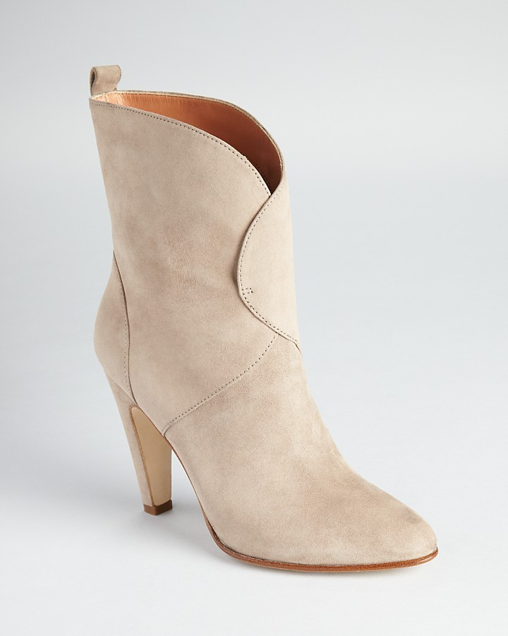 Sigerson Morrison Booties - Pull On