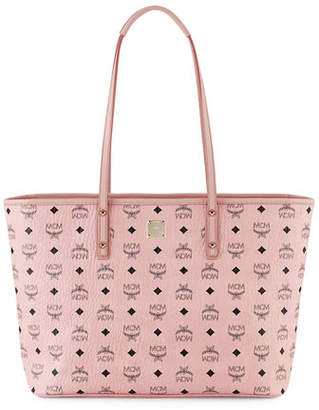 MCM Anya Medium Top-Zip Shopper Bag