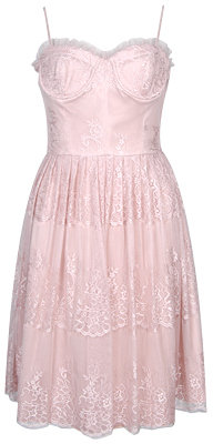 Forever 21 Lace Corset Dress