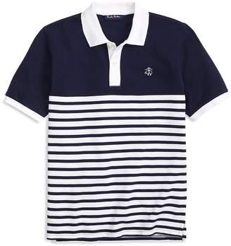 Brooks Brothers Boys' Nautical Stripe Polo