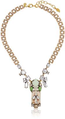"David Aubrey Delilah Crystal Pendant Necklace 21"" + 3"" Extender"