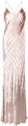 Mason by Michelle Mason bias maxi gown