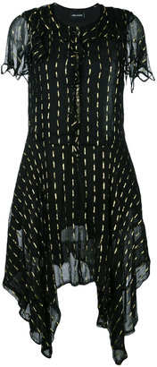 Zadig & Voltaire flared asymmetric dress $327.81 thestylecure.com