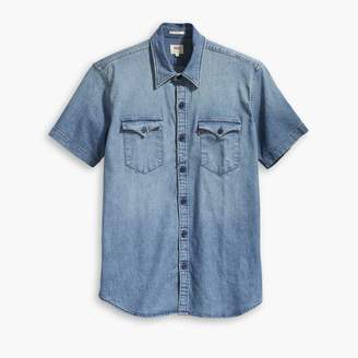 Levi's Barstow Western Short-Sleeved Denim Shirt