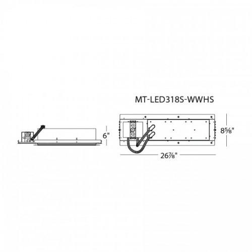 W.A.C. Lighting LEDme Multiple Spot 3 Light Trim - MR-LED318