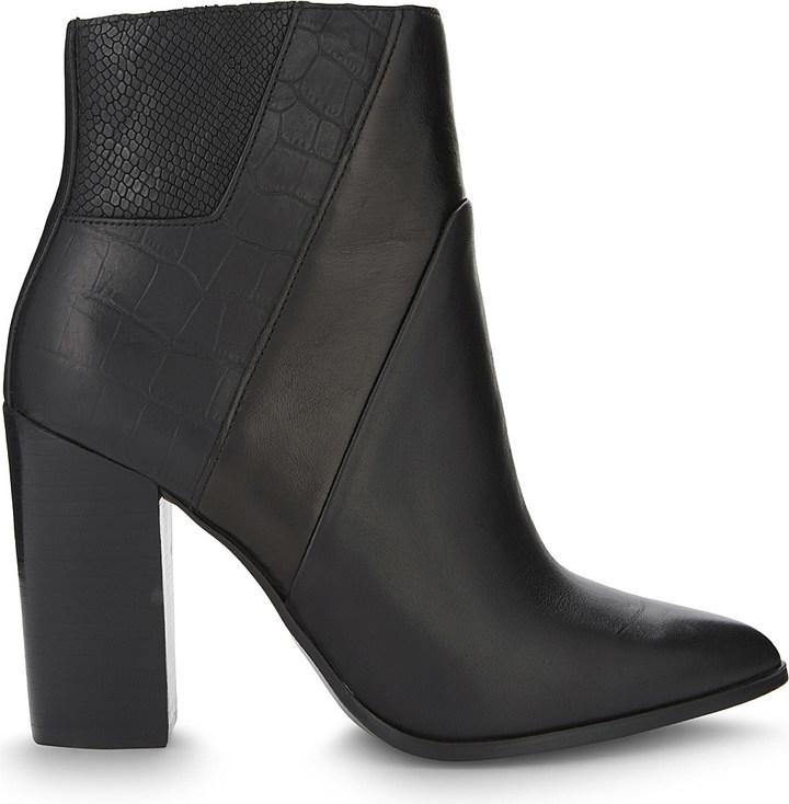 AldoALDO Zelina leather heeled ankle boots