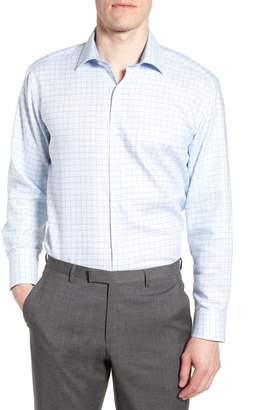 Tailorbyrd Alec Trim Fit Check Dress Shirt