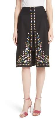 Ted Baker Hampton Print A-Line Skirt