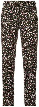 Zadig & Voltaire Zadig&Voltaire camouflage fitted trousers