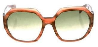Marc Jacobs Oversize Gradient Sunglasses