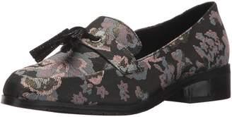 Kenneth Cole Reaction Women's Jet Ahead Dress Tassel Detail Fabric Slip-on Loafer