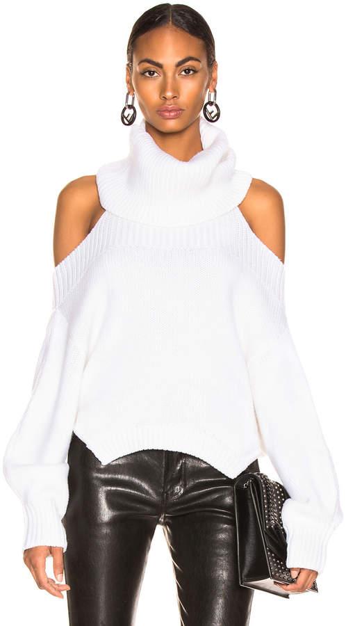 Upside Down Turtleneck Sweater