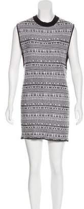 Helmut Lang Mini Bouclé Dress