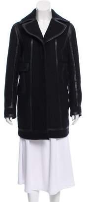 Diane von Furstenberg Pearl Wool Coat