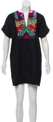 Mara Hoffman Embroidered Mini Dress w/ Tags