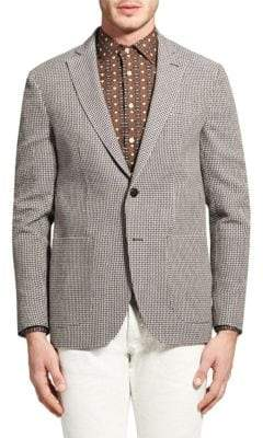 Etro Deconstructed Cotton & Linen Jacket