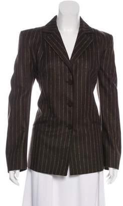 Genny Wool Striped Blazer w/ Tags