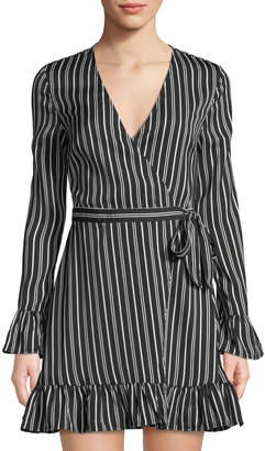 The Fifth Label Ophelia Striped Wrap Dress