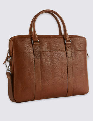 Marks and Spencer Pebble Grain Leather Briefcase
