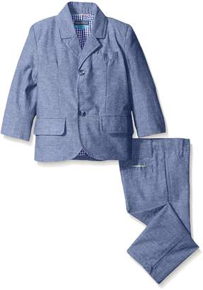 Andy & Evan Toddler Boys Linen Suit Jacket and Pant