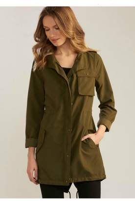 Paige Charlie Military-Style Lightweight Jacket