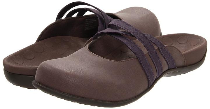 Orthaheel VIONIC with Technology - Sasha Mule (Chocolate/Plum) - Footwear