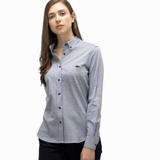 Lacoste (ラコステ) - ギンガムチェック カットソーシャツ (長袖)