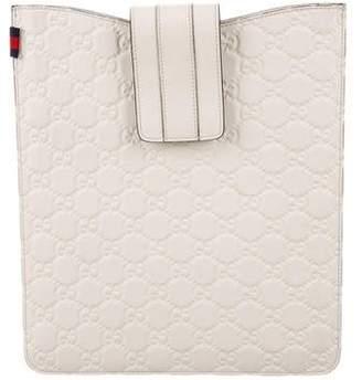Gucci Guccissima iPad Case