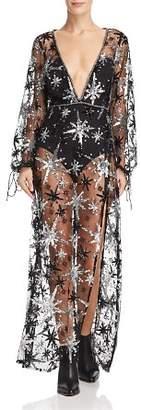 For Love & Lemons Stardust Maxi Dress