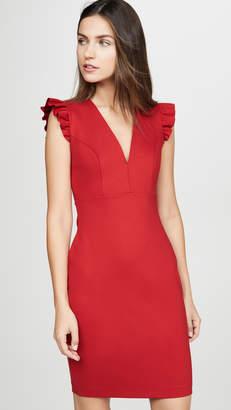 Susana Monaco Ruffle Edge Dress