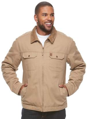 Coleman Men's Sherpa-Lined Twill Jacket
