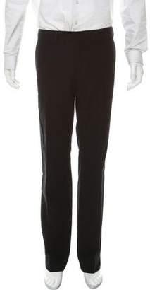 Prada Flat-Front Velvet Pants
