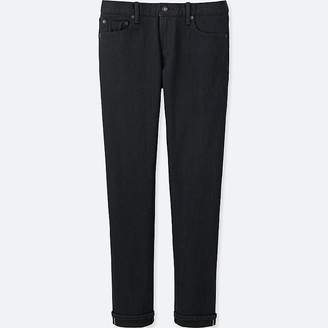 UNIQLO Men's Selvedge Skinny Fit Jeans $49.90 thestylecure.com