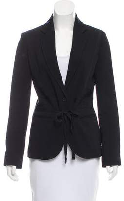 Kenzo Grosgrain-Trimmed Tailored Blazer