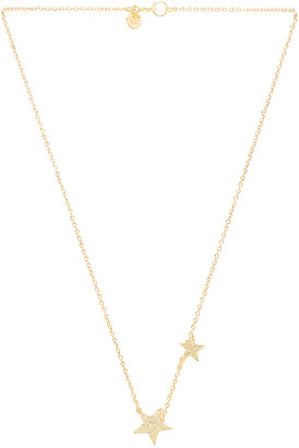 gorjana Super Star Necklace in Metallic Gold. $53 thestylecure.com