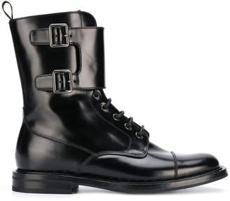 Church's lace up leather boots