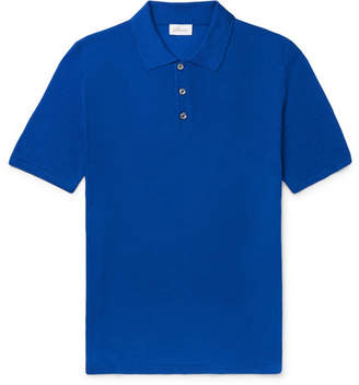 78997c53 Brioni Slim-Fit Knitted Silk Polo Shirt