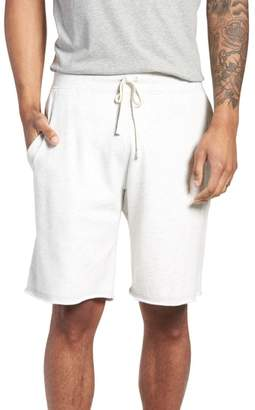 Reigning Champ Raw Edge Drawstring Shorts