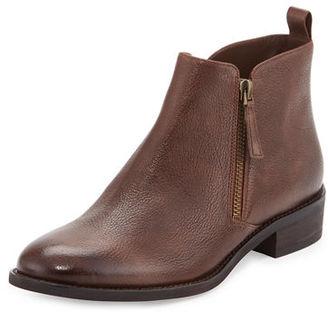MICHAEL Michael Kors Denver Leather Zip Bootie $199 thestylecure.com