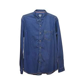 Comfort Denim Outfitters Men's Casual Denim Shirt (