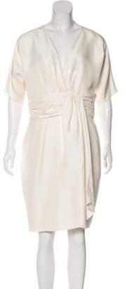 Giambattista Valli Silk Dolman Dress